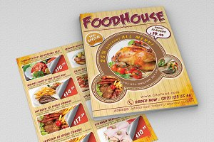 Fast Food Flyer 01