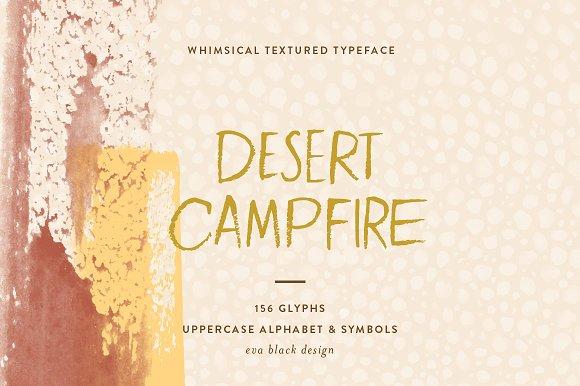 Desert Campfire Font