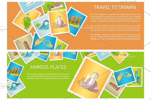 Travel To Taiwan Around Famous Places Brochure