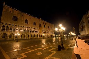 Palazzo Ducale At Night