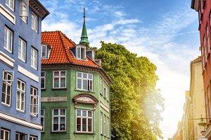 City landscape, Copenhagen