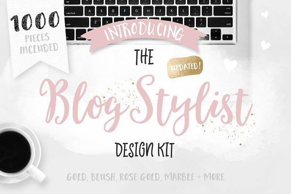Blog Stylist Design Kit