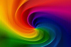 Colorful spiral vortex blur abstraction background