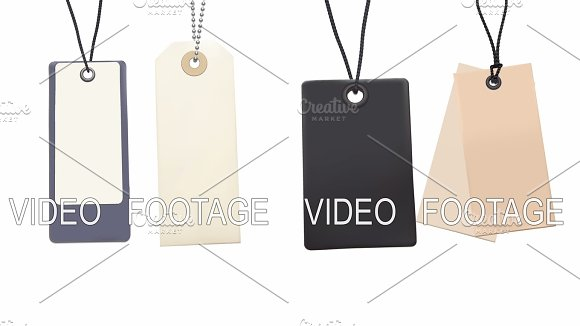 Set Of Swing Tags