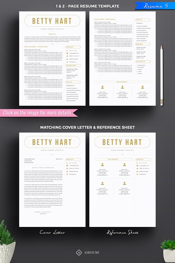 resume cv bundle resume templates creative market
