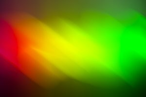 Horizontal red yellow green blurred abstraction backdrop