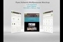 Flyer/ Artwork/ Multipurpose Mockup