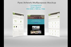 Flyer/ Artwork/ Multipurpose Mockup