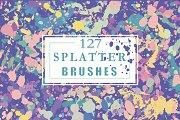 Vector splatter brushes
