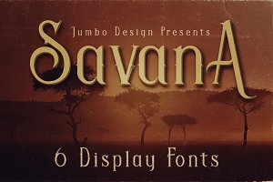 Savana - Display Font