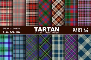 Seamless  Tartan Pattern Part - 44
