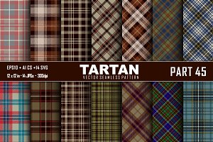 Seamless  Tartan Pattern Part - 45