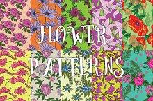 10 flower patterns