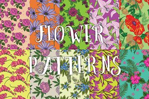 10 flower patterns