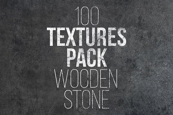 100 Textures Pack Wooden Stone