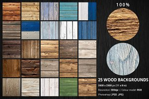 25 Wood Backgrounds High Resolution
