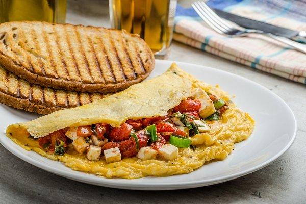 Mediterranean-Style Omlette
