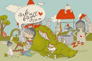 Nicki the Knight - Graphics