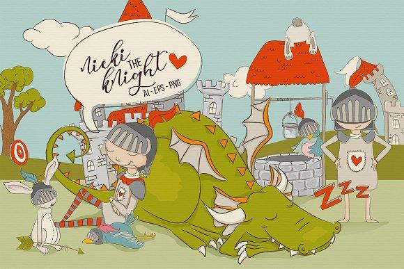 Nicki The Knight Graphics
