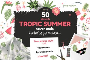 Tropic Summer Design Collection