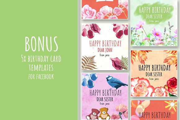 83 Free Birthday Cards For Facebook Timeline
