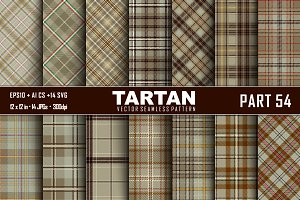 Seamless  Tartan Pattern Part - 54