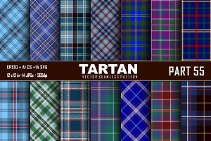 Seamless  Tartan Pattern Part - 55