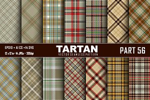 Seamless  Tartan Pattern Part - 56