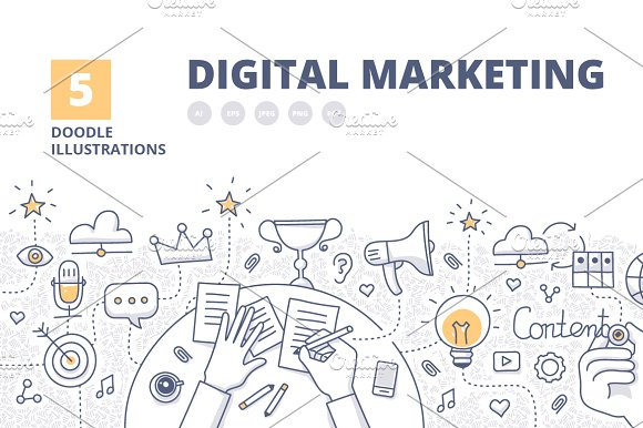 5 Digital Marketing Concepts