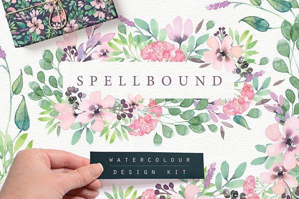 Spellbound Watercolour Design Kit