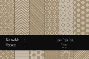 Patterned Paper - Crafty Times