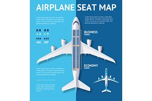Airplane Seat Map Class