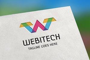 Webitech (Letter W) Logo