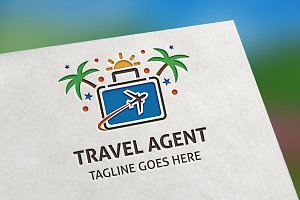 Travel Agent Logo