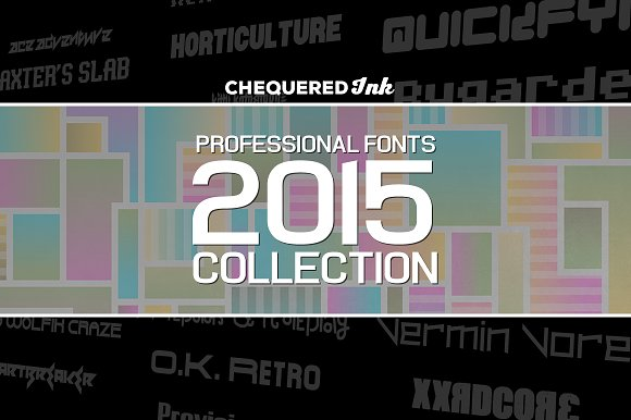 Professional Fonts 2015 Collection
