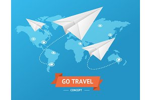 Go Travel Concept