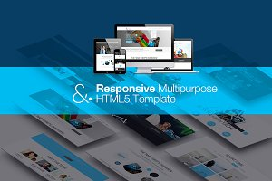 & | Responsive HTML 5 Template