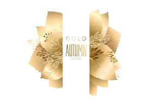 Gold fall design