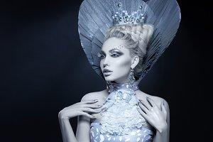 Portrait of winter queen