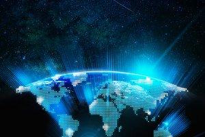 Part of digital earth