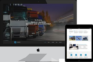 Logistic – Freight Services Theme