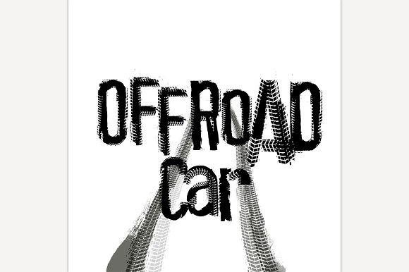 Off-Road Lettering Image