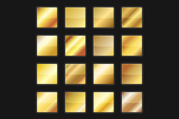 Gold And Silver Background Textures