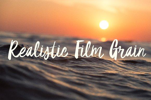 Realistic Film Grain PS Action
