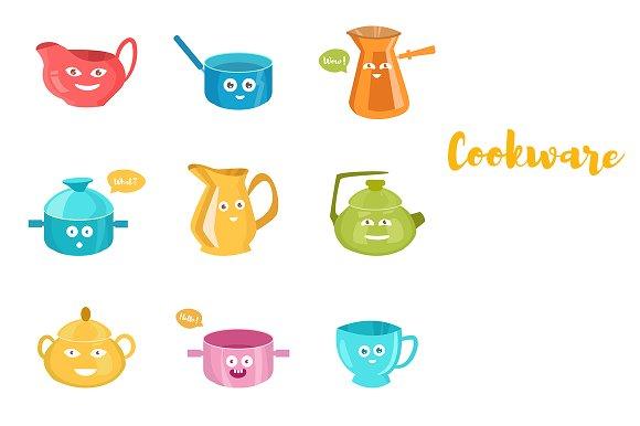 Cookware Cartoon