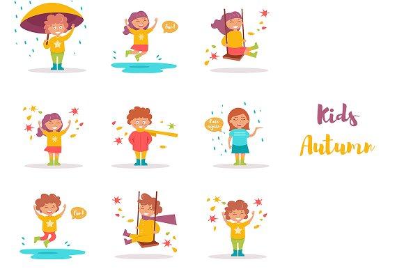 Kids Fall
