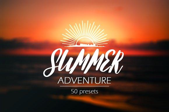 Summer Adventure Lightroom Presets
