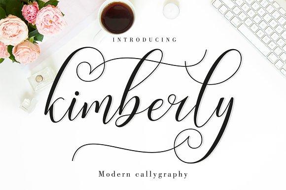 Kimberly Script Font Duo