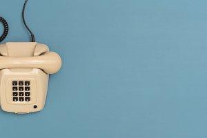 landline telephone header
