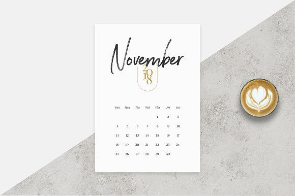 2017 2018 Calendar